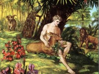 Adam in the Garden of Eden Genesis 2:7-8