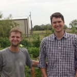 Gerred and John Roberts - market gardeners