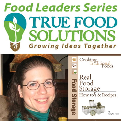 KerryAnn Foster talks about Real Food Storage
